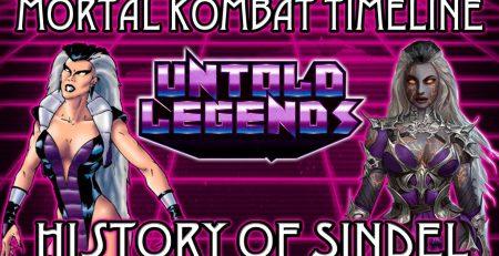 Mortal Kombat Timeline The History of Sindel GamerThumbTV