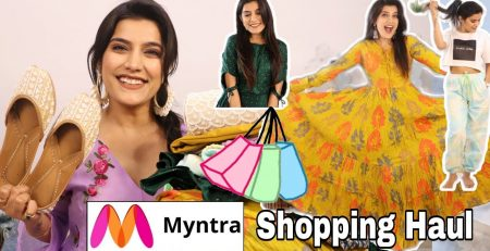 Myntra Amazon Collective Haul Tops Dresses Try On