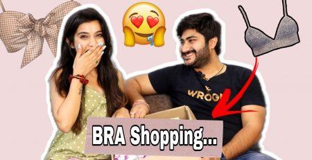 OMG Husband Shops For Me BRA Shopping