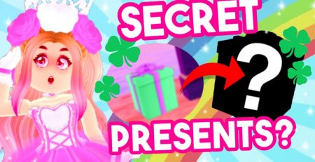 SECRET GIFTS in the UPDATE Royale High St Patricks Day