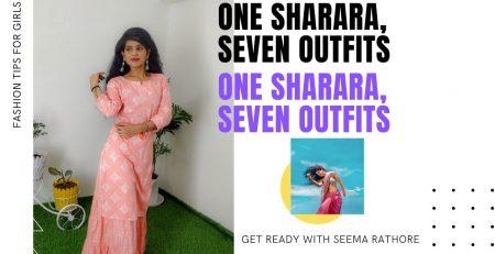 Sharara Outfits Fashion Tips Get Ready With Seema
