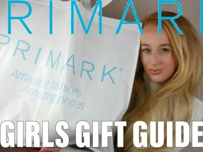 THE BEST PRIMARK CHRISTMAS GIFT GUIDE FOR HER HAUL