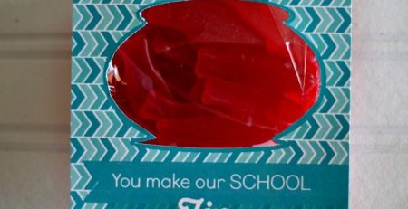 Teacher Appreciation Craft with Free Printable By Somewhat Simple