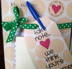 Teacher Appreciation Week Ideas DIY Post It Note Holders