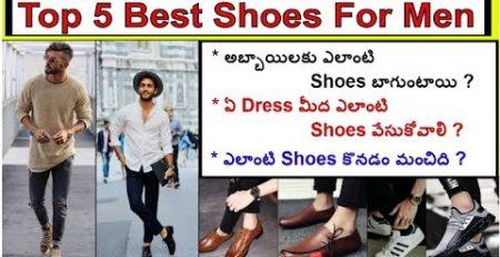 Top 5 Best Shoes For Men Men39s Fashion Tips
