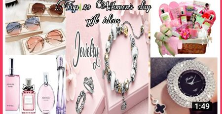 Top10 international women39s Day gift ideas 2021womens Day special gift