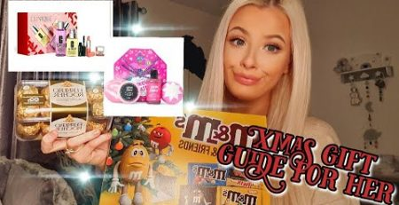 ULTIMATE CHRISTMAS GIFT GUIDE FOR HER 2020 on a budget
