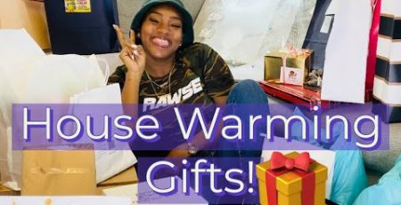 UNBOXING MY HOUSE WARMING GIFTS TANAANIA