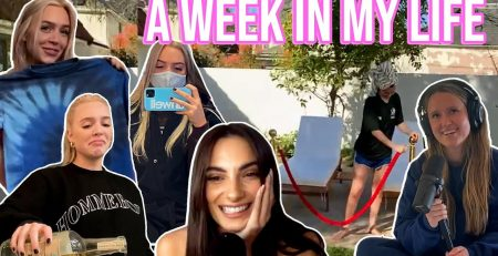 WEEK IN MY LA LIFE friends visit podcast drama