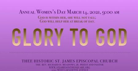 Womens Day 31421 St James Episcopal Church amp St Michael