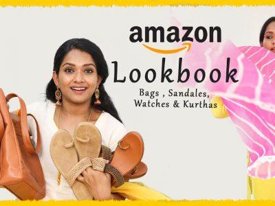 Amazon Fashion Haul LookBook Video Kurtas Handbags Watches
