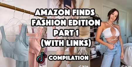Amazon finds fashion edition with links part 1 TikTok Compilation