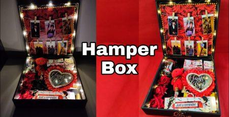 Best birthday gift HAMPER BOX for him by Creativpiu