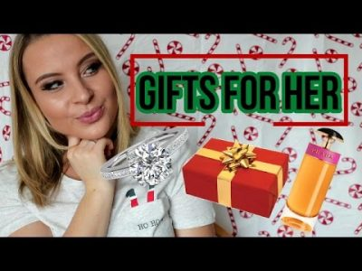 CHRISTMAS GIFT GUIDE FOR HER 2016