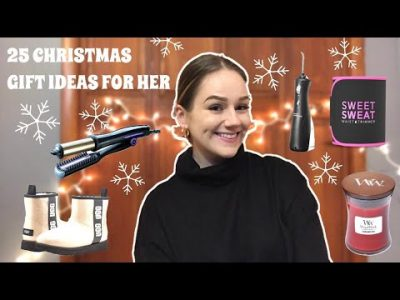 CHRISTMAS GIFT IDEAS FOR HER Holiday Gift Guide 2020