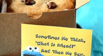 Chocolate Chip Cookie Monster Cookies Random Acts of Kindness