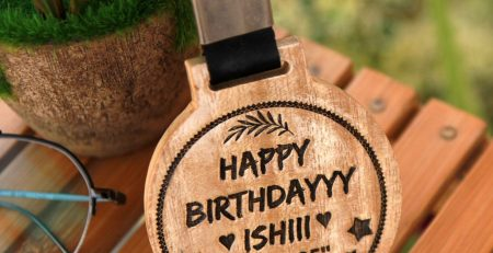 Custom Medals As Birthday Gifts For Her Customised With A
