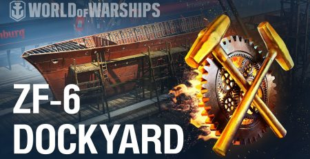Dockyard How to build ZF 6 in World of Warships Update