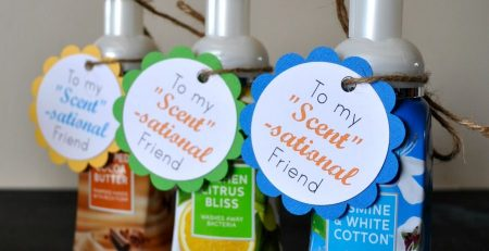 Foaming Hand Soap Scent sational Friend Gift Free Gift Tags Printable