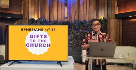 GIFTS TO THE CHURCH Rev Dr Lemuel Engcoy Apr