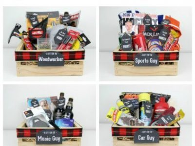 Gift Crates for Guys Wood Worker Fisherman