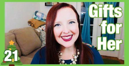 Gift Guide for Her Vlogmas 2019