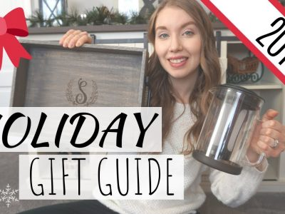 HOLIDAY GIFT GUIDE 2019 FOR HER CHRISTMAS GIFT IDEAS