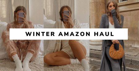 HUGE AMAZON CLOTHING HAUL TRY ON Autumn Winter