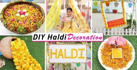 Haldi DIY Decoration Ceremony ideas DIY Queen