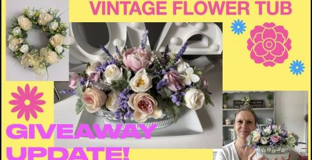 How to Arrange Flowers Step by StepVintage ColourwayPerfect Gift Without