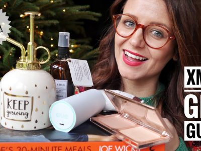 MASSIVE CHRISTMAS GIFT GUIDE FOR HER CHRISTMAS PRESENT IDEAS