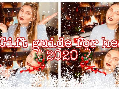 PERFECT CHRISTMAS GIFT GUIDE FOR HER 2020 Amy Elizabeth