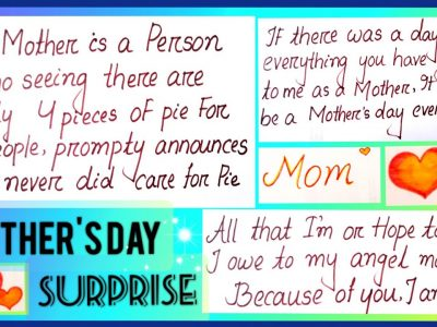 SURPRISE Mom on MOTHER39S DAYMothers day WishMothers day GiftMothers Day