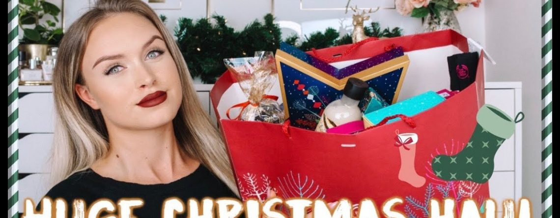 THE BODY SHOP HAUL GIFT amp STOCKING GUIDE FOR