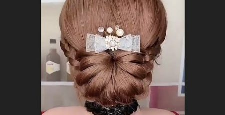 juda Hairstyle for wedding PartyShorts @Fashion And Beauty Tips