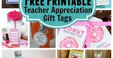 25 Free Printable Teacher Appreciation Gift Tags