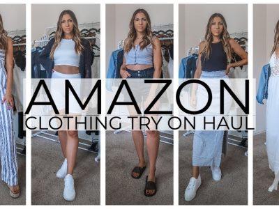 AMAZON CLOTHING HAUL 2020 SUMMER LOOKBOOK amazonfashion amazonhaul