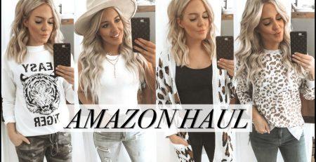 AMAZON CLOTHING HAUL TRY ON