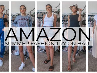 AMAZON CLOTHING TRY ON HAUL SUMMER 2020 amazonfashion