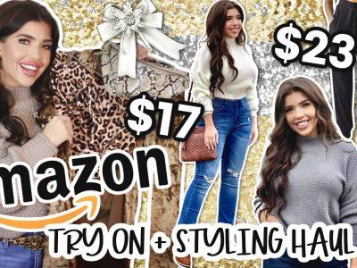 AMAZON CLOTHING TRY ON HAUL Styling Amazon Fashion Items