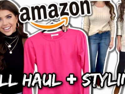 AMAZON FALL CLOTHING TRY ON HAUL FALL 2020