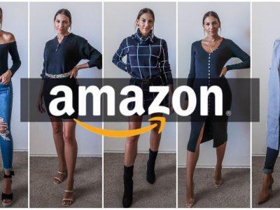AMAZON FALL HAUL FALL TRY ON HAUL amazonfashion