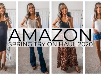 AMAZON SPRING HAUL 2020 TRY ON HAUL SPRING
