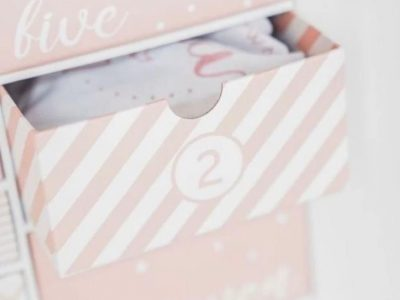 Advent Style Gift Box Baby Gift Box Mothers