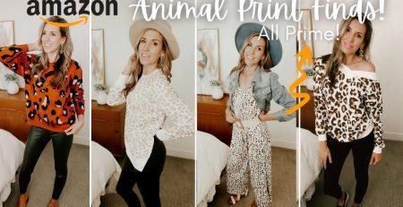 Amazon Fashion FAVORITES Leopard Print Haul