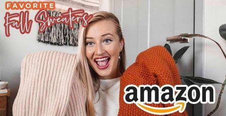 Amazon Fashion Fall Sweater Haul