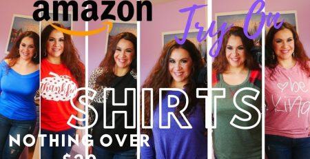 Amazon Fashion Haul Try on shirts Nothing over 20