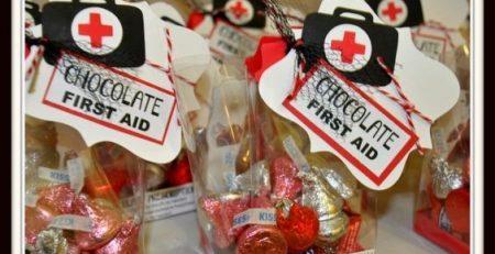 Chocolate First Aid Nurses Gift Idea Craft