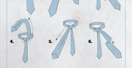 Cool How To Tie a Half Windsor Knot