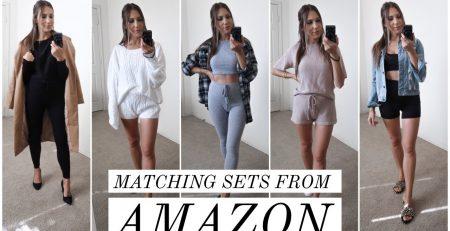 MATCHING SETS FROM AMAZON AFFORDABLE CLOTHING HAUL amazonfashion